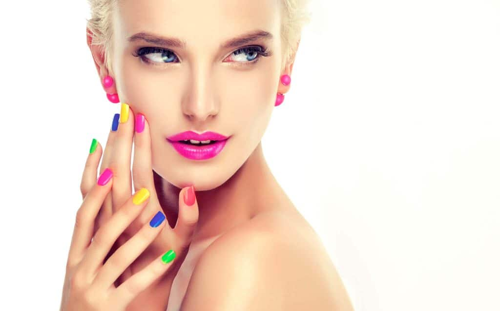 california nails website project