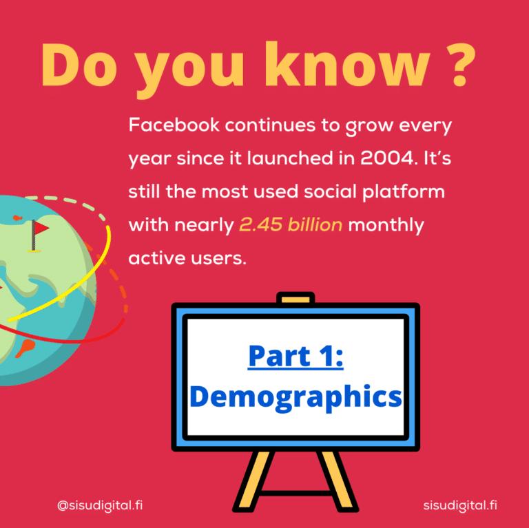Facebook statistics 2020 2