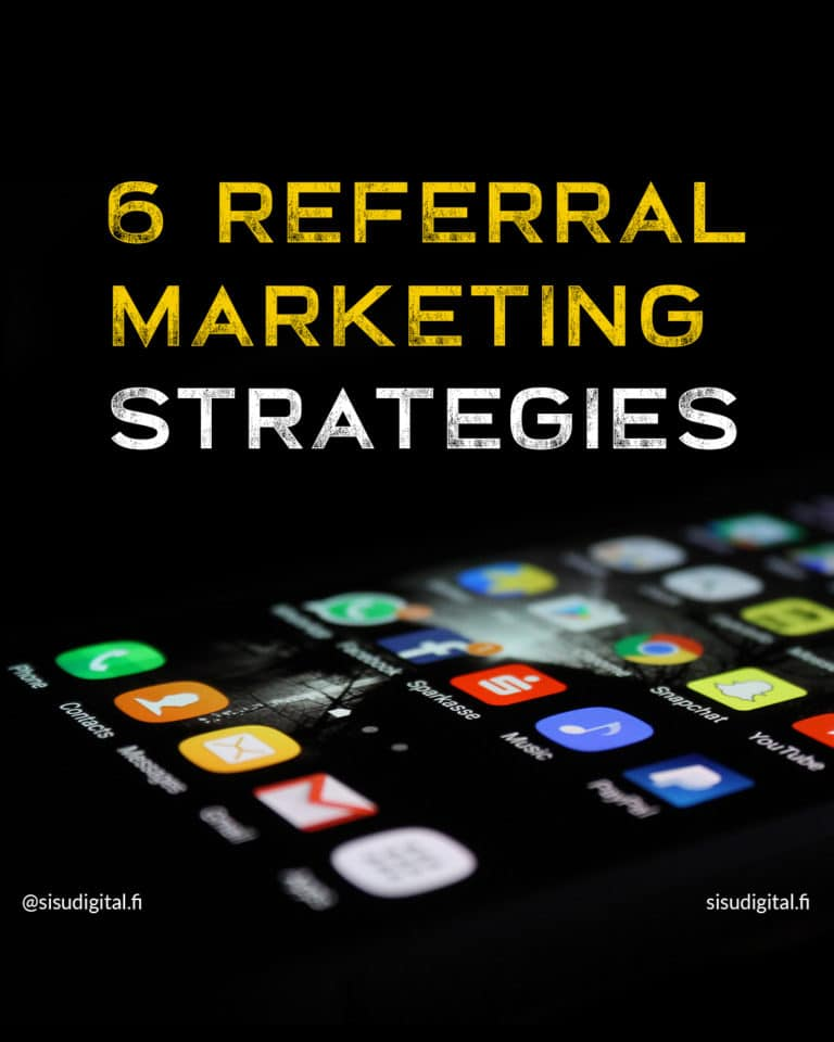 6 referral marketing strategies 1