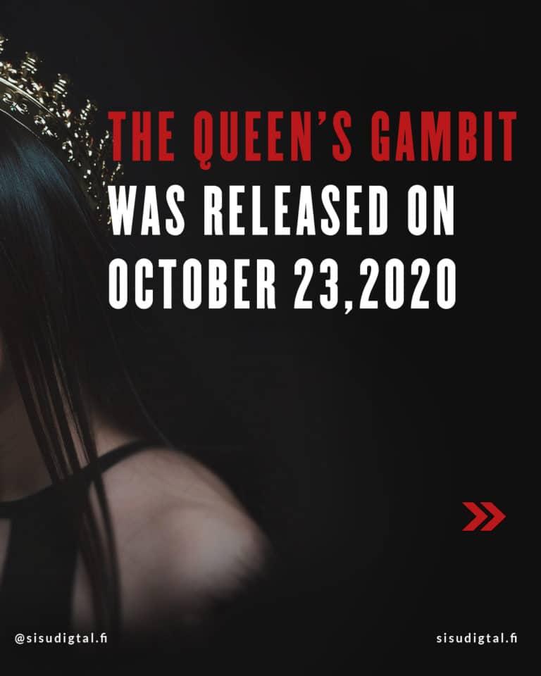 Netflix effect - The Queen's Gambit 2