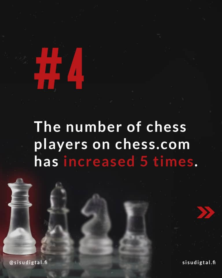 Netflix effect - The Queen's Gambit 8