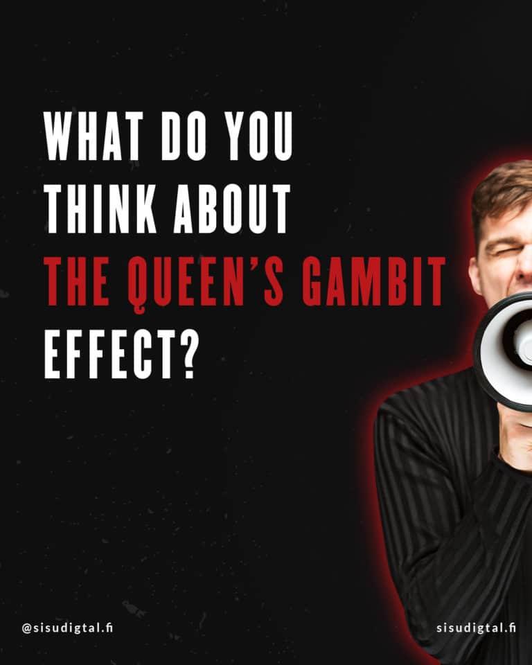 Netflix effect - The Queen's Gambit 9